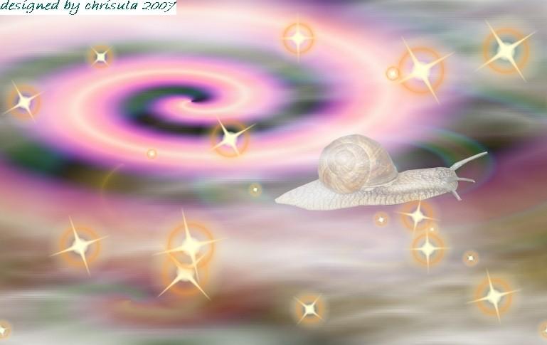 Die Laserschnecke auf dem Weg zur Milchstraße - foto-art 2007