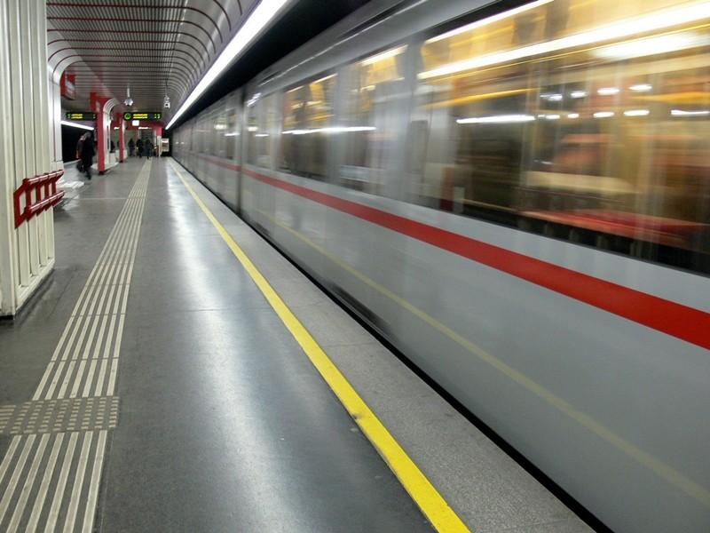 U1-Station Vorgartenstraße