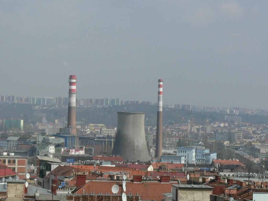 Rundumblick vom Rathausturm FZ30 Meiler mitten in der Stadt!!!!