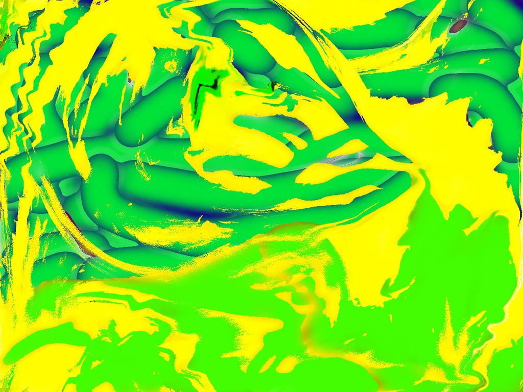 Farbersetzung blau-grün