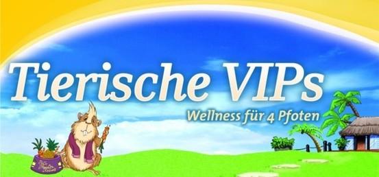 Header Tierische VIPs - Wellness für 4 Pfoten