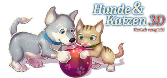 Banner Hunde & Katzen 3D