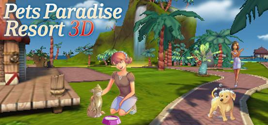 Banner Pets Paradise Resort