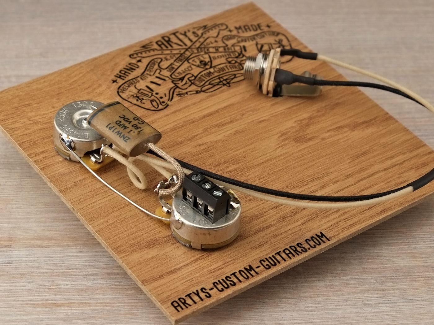 Solderless Prewired Harness 1951 Precision Bass Artys Custom Guitars Best Wiring For Telecaster