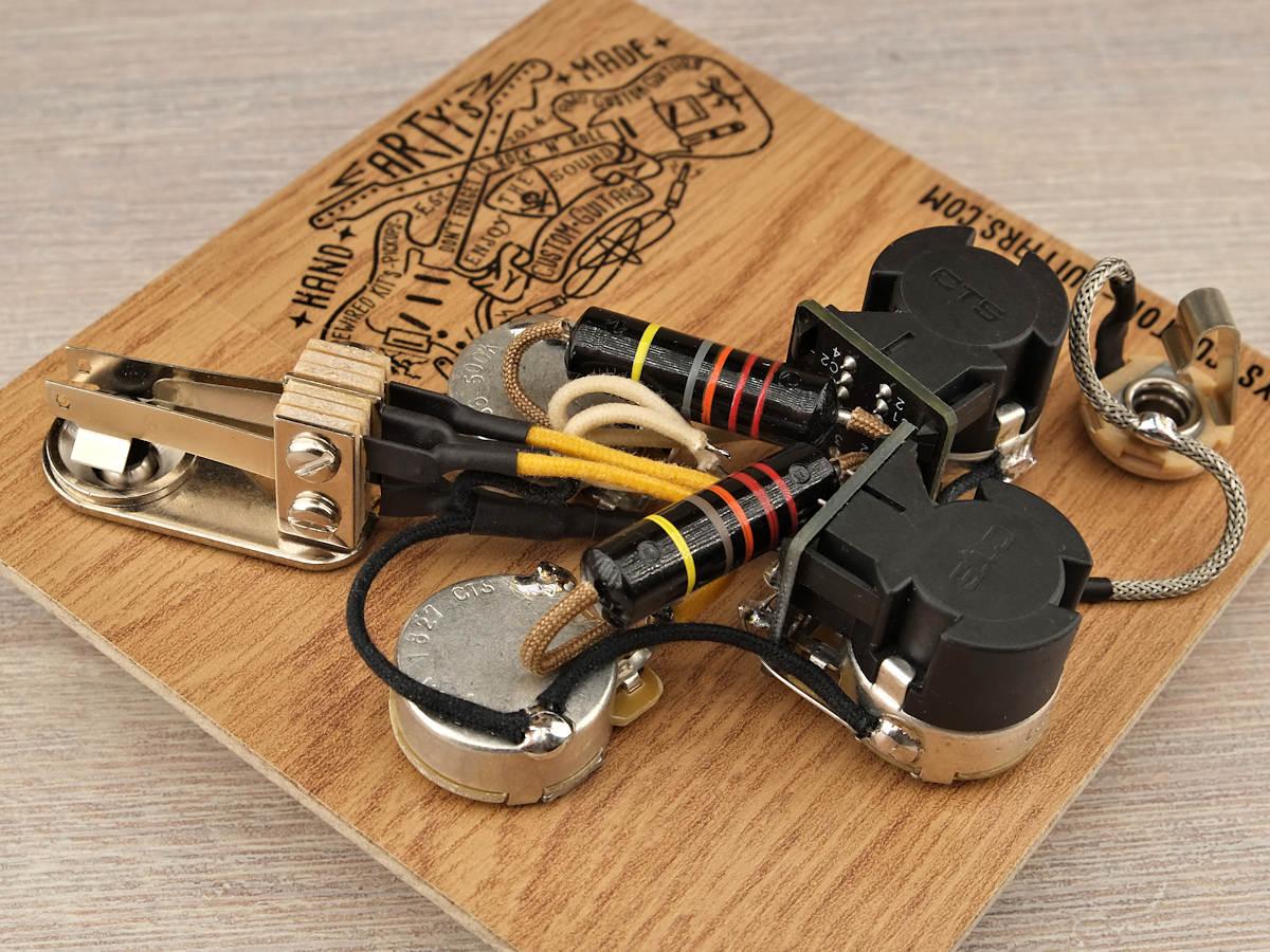 prewired kit gibson sg arty 39 s custom guitars. Black Bedroom Furniture Sets. Home Design Ideas