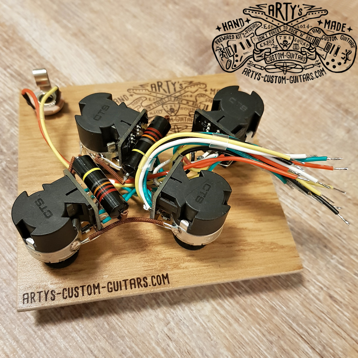 Prewired Kit Les Paul Jimmy Page