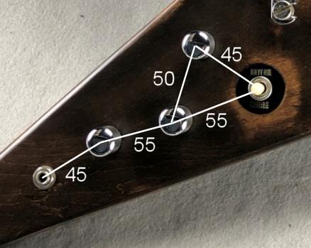 Custom order example Arty's Custom Guitars