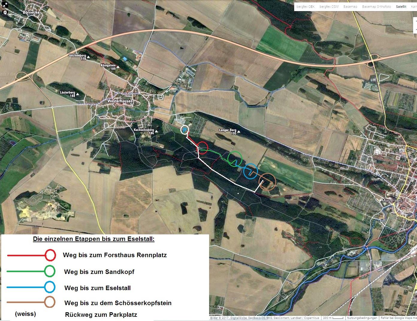 ein Luftbildaufnahme (Google)