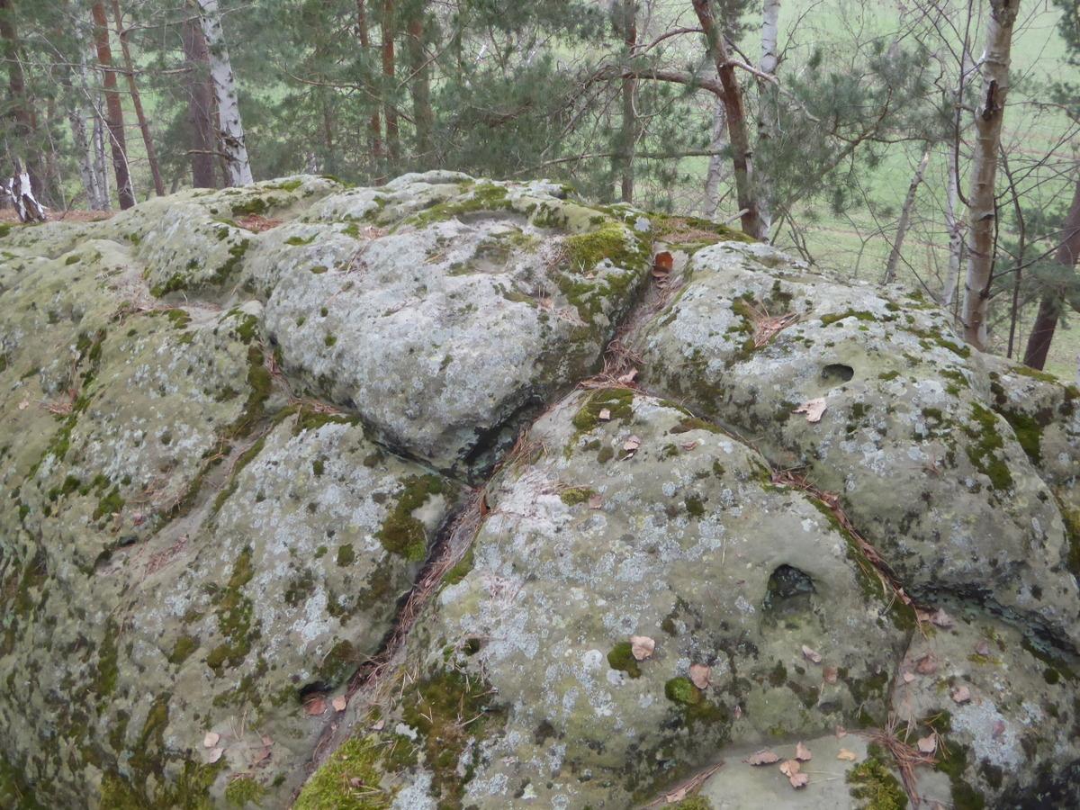 Ritzbild im Sandstein