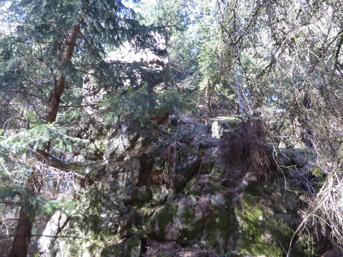 Blick auf den Felsen 1