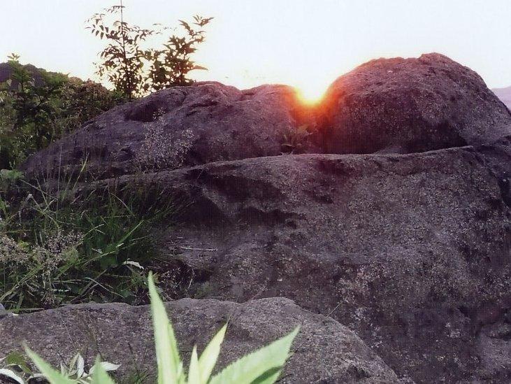 Sonnenaufgang nach Vorhersage