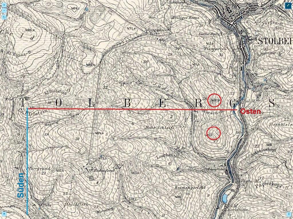 Historische Karte mit besserer Aussage