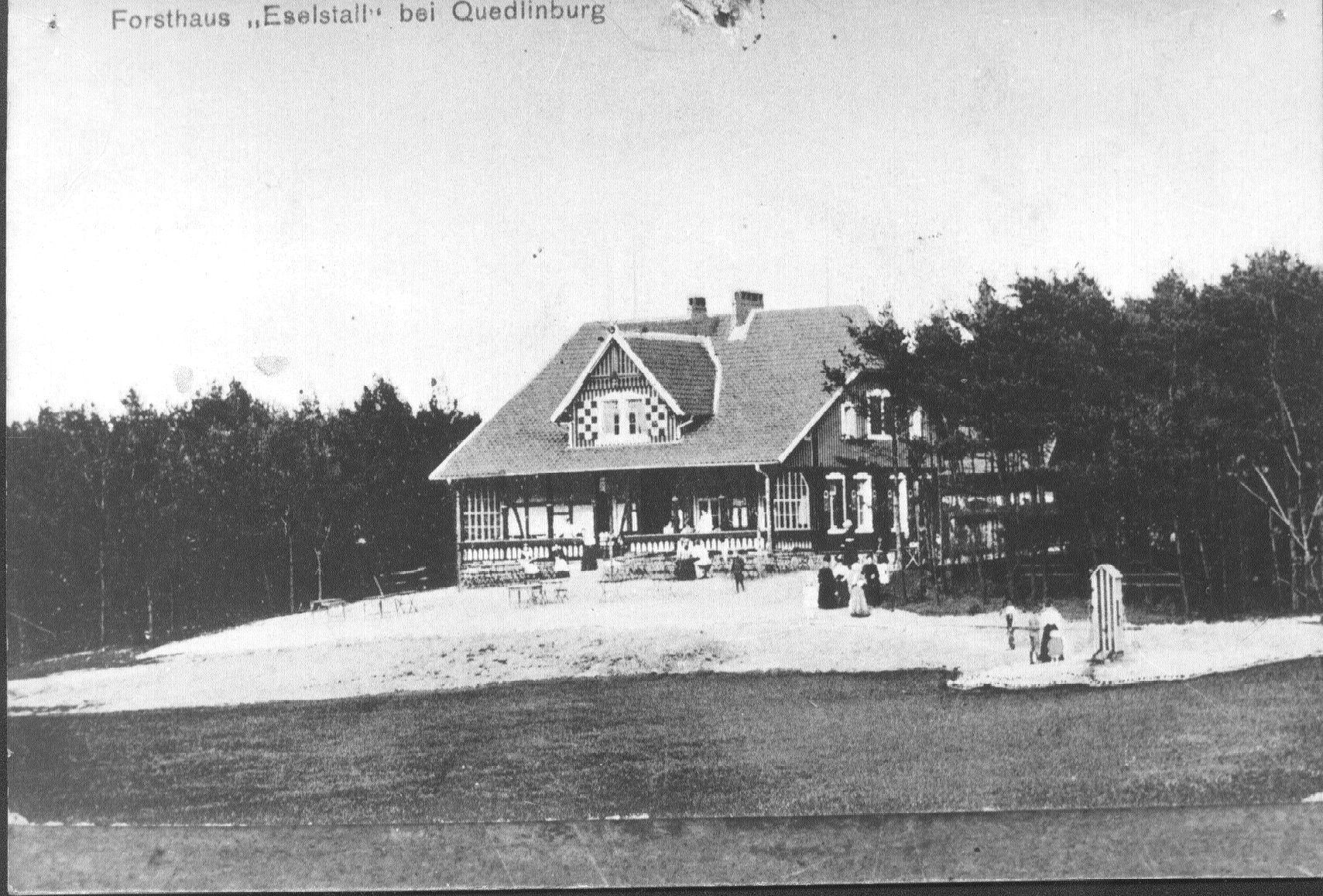 Das alte Forsthaus Eselstall