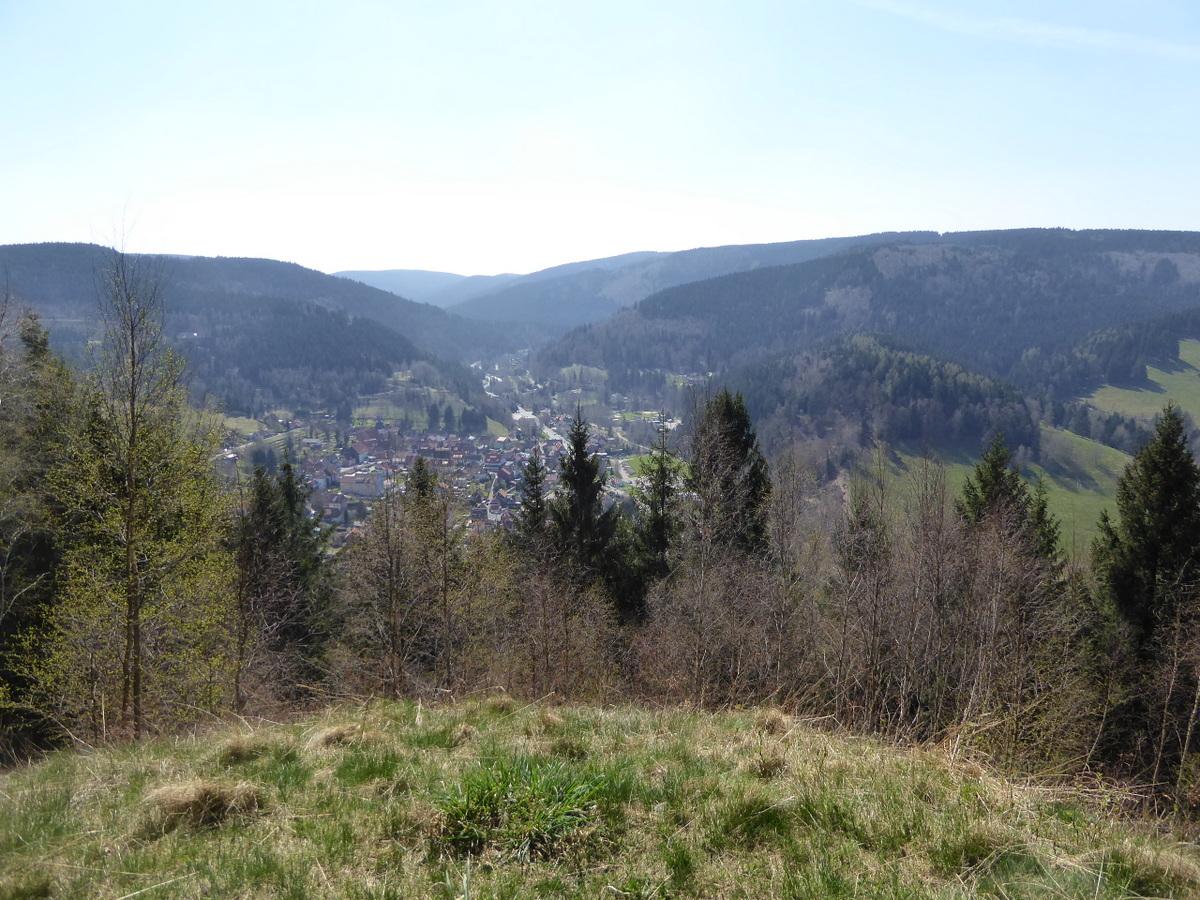 Der Blick über den Ort