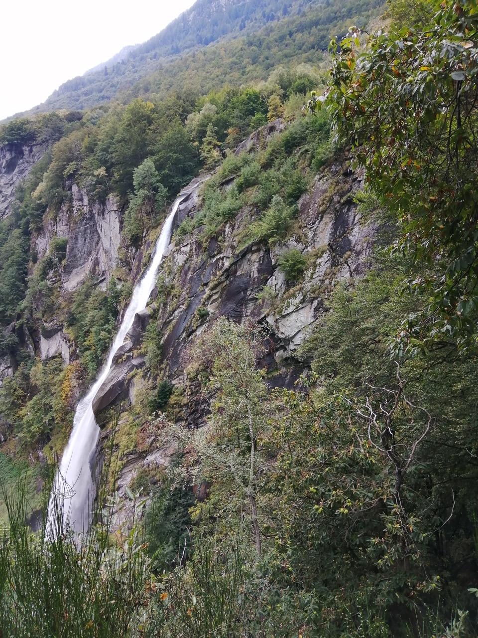 Wasserfall von Foroglio
