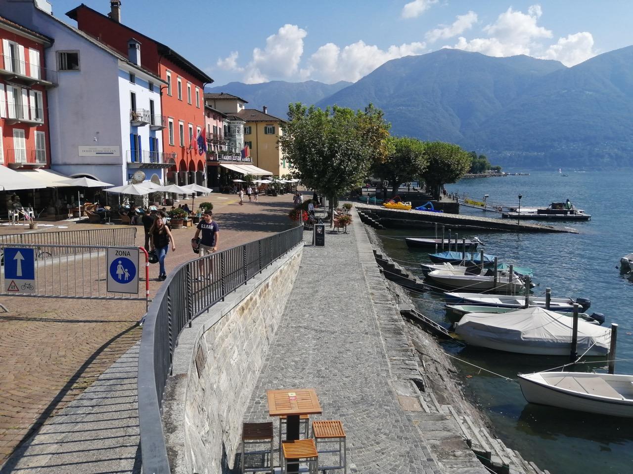 Promenade von Ascona
