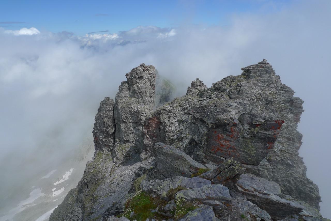 Auf dem Gipfel des Pizol