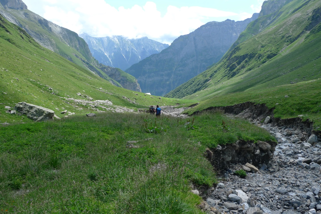 ...ins grüne Tal von Tersol