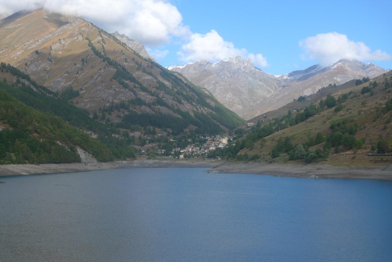 Lago di Castello im Val Varaita
