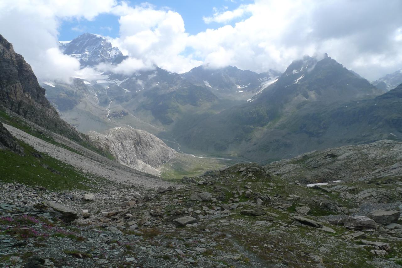 Das imposante Valle di Scerscen