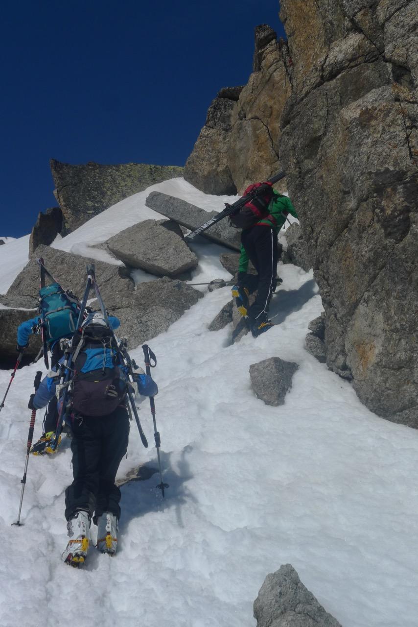 Fussaufstieg zum Gipfel des Piz Sesvenna