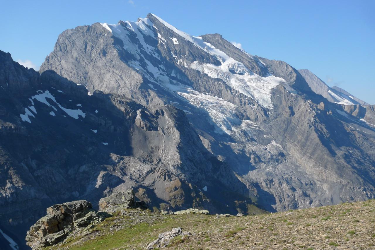 Blüemlisalp vom Gipfel des Bundstocks