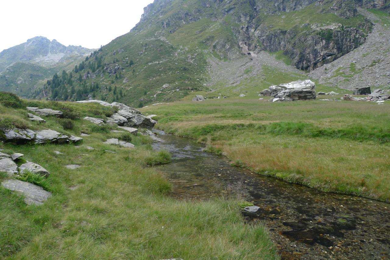 Schöner Rastplatz auf der Alpe d'Örz