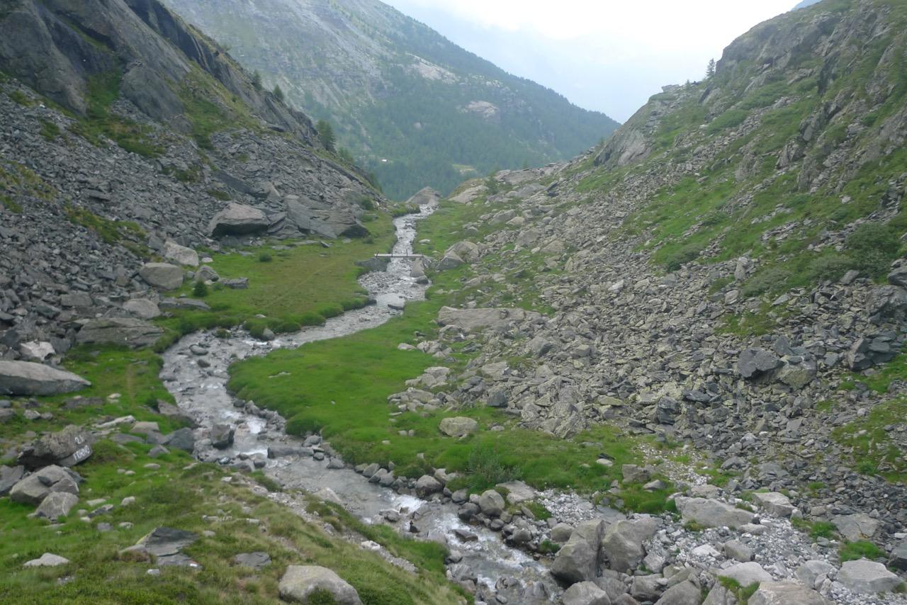 Im Val Bona mit Blick ins Val Malenco