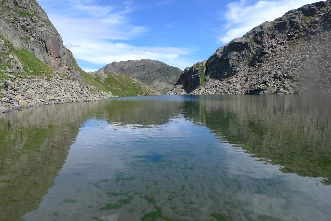 Lago Toma, die Rheinquelle