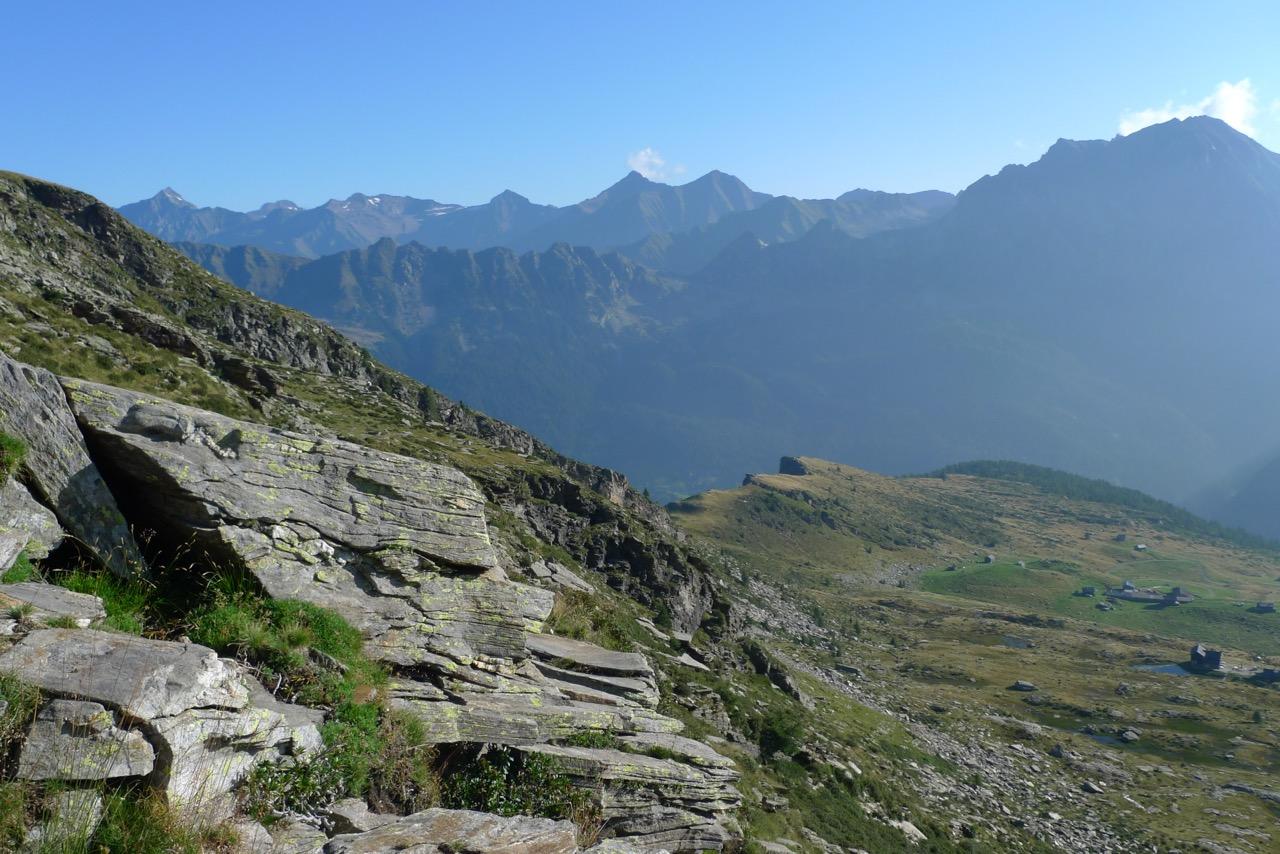Aufstieg von der Capanna Cava zur Forcella di Lago