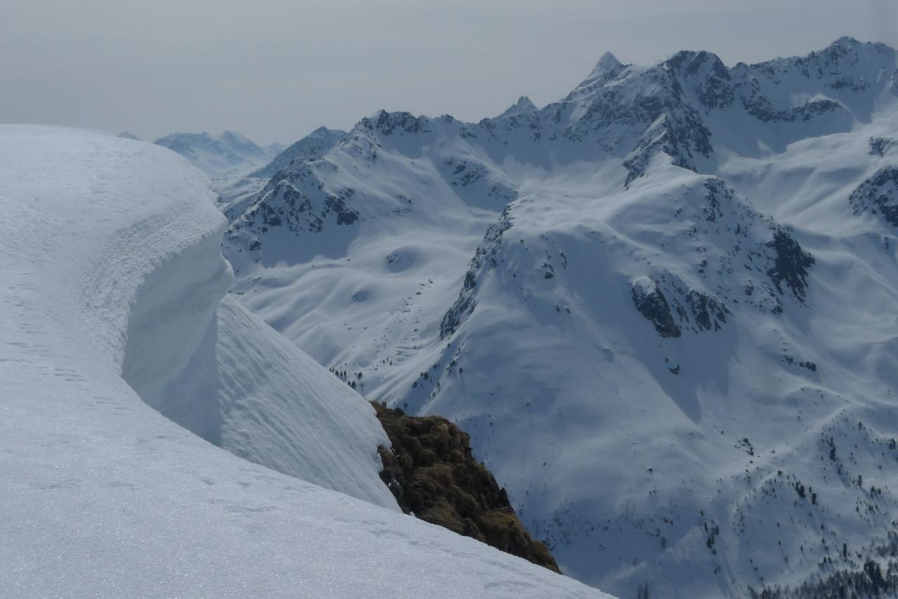 Gipfelwächte am Tschimas da Tschitta