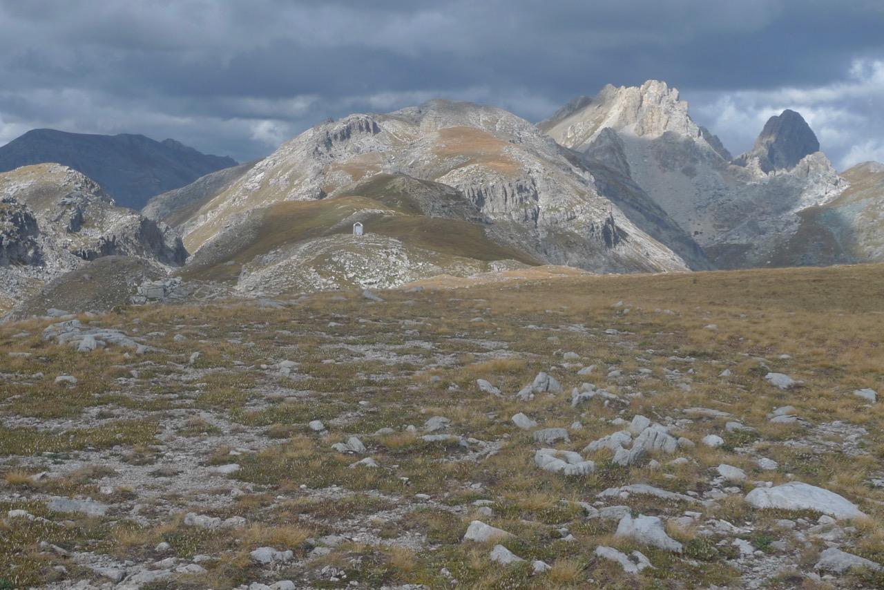 In den Dolomiten von Cuneo, Übergang ins Valle Stura