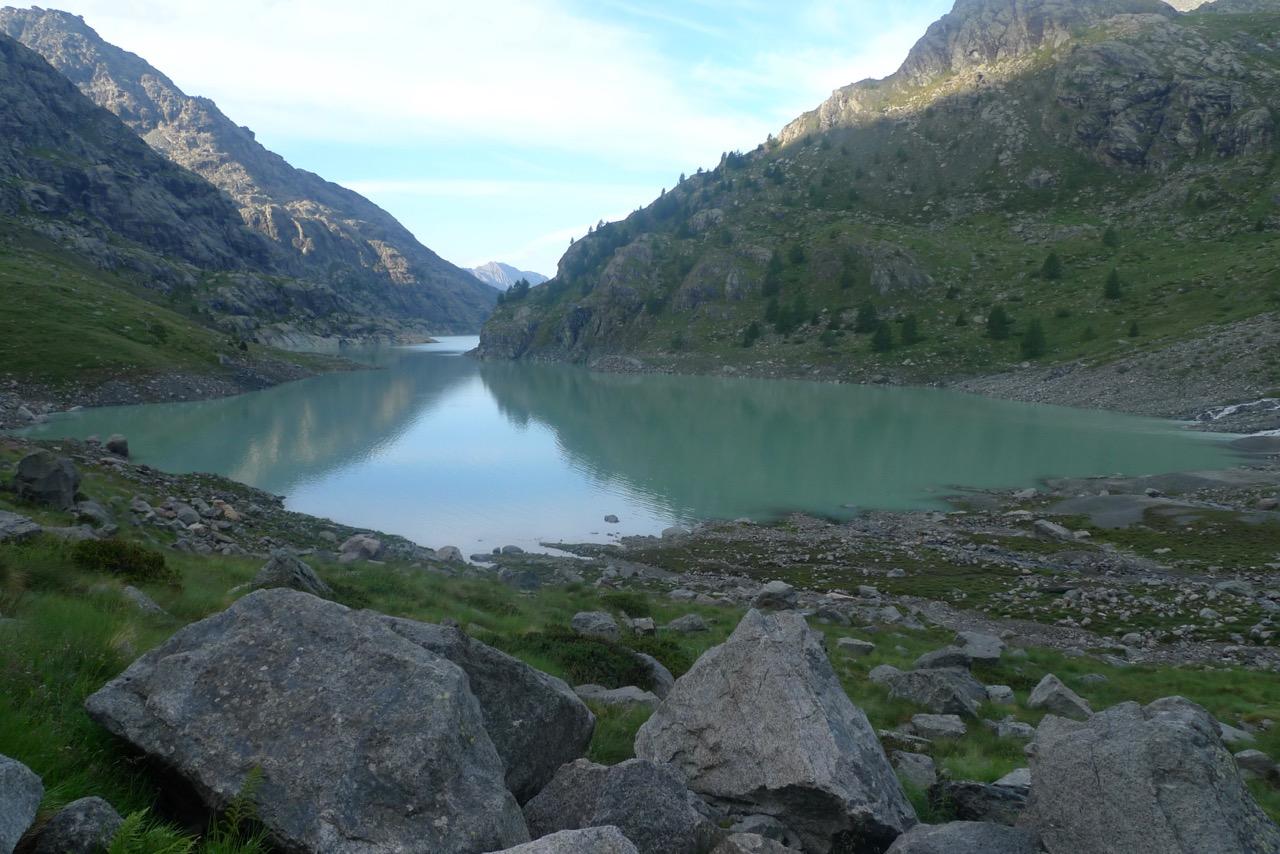 Stausee Lago di Gera