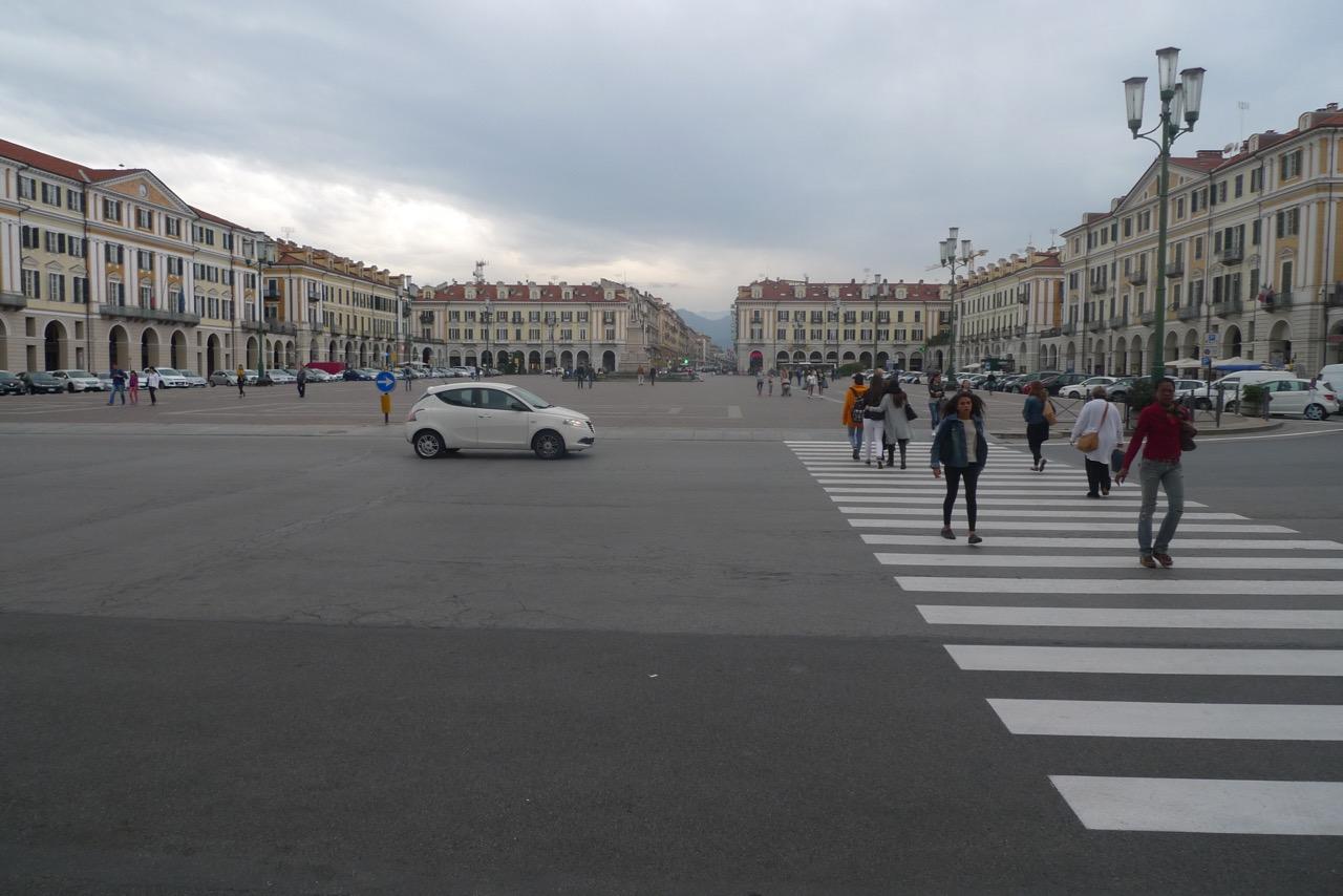 Piazza Galimberti in Cuneo