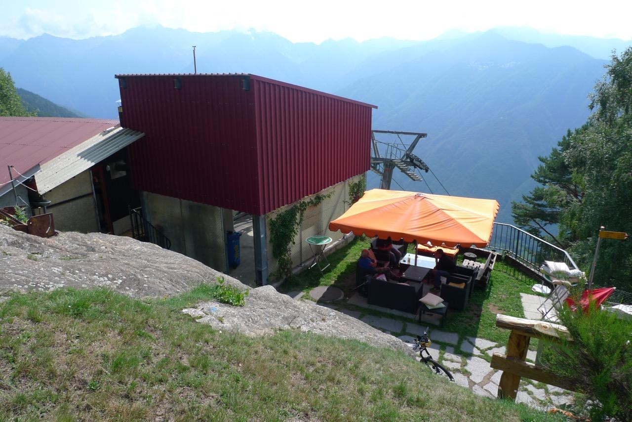Bergstation Monti di Saurù