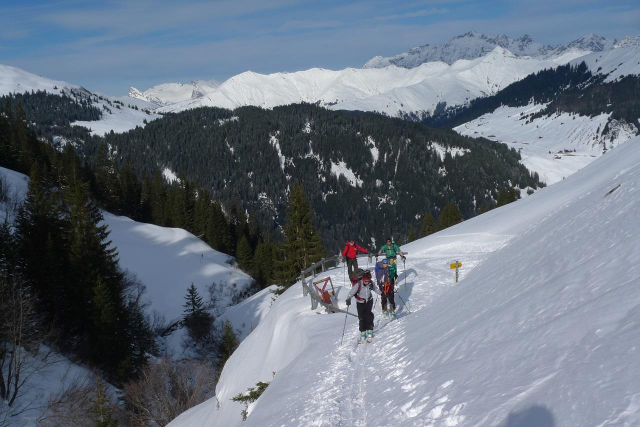 Bei Vordersäss der Aschariner Alp