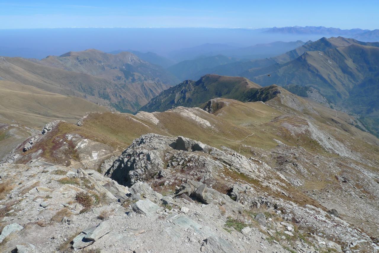 Blick Richtung Passo di Crosette