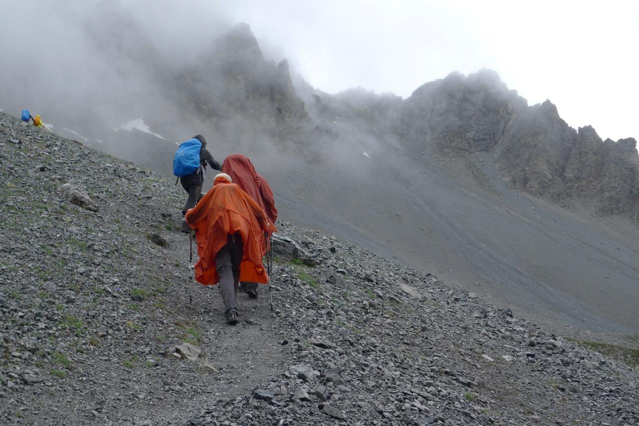Aufstieg zur Fuorcla Val dal Botsch