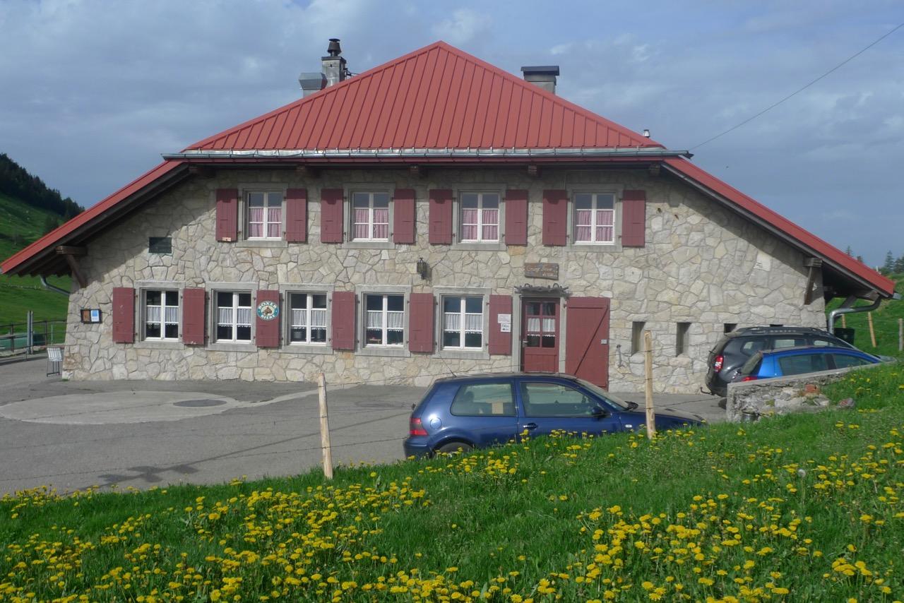 Übernachtung in der Alp Grange Neuve