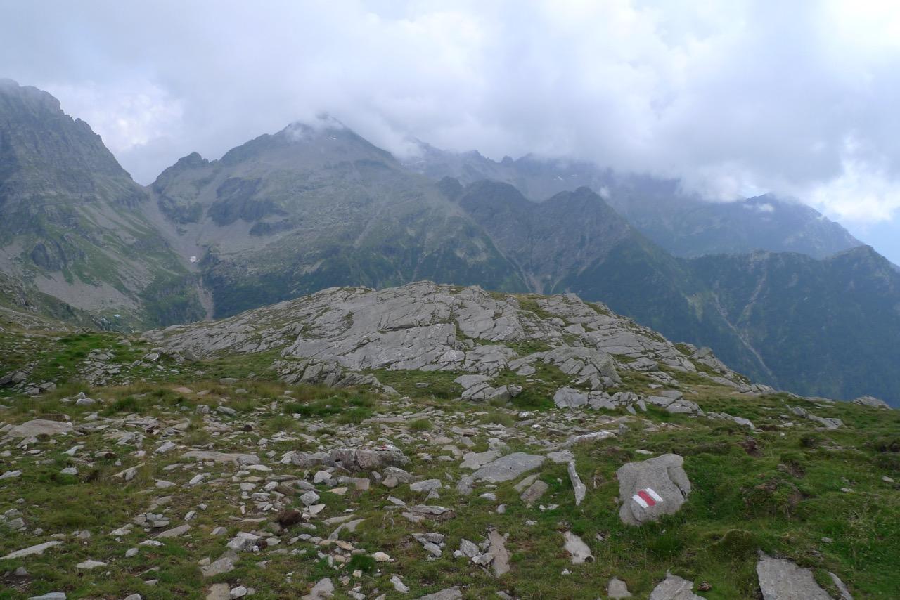 Aufstieg zum Passo del Mauro