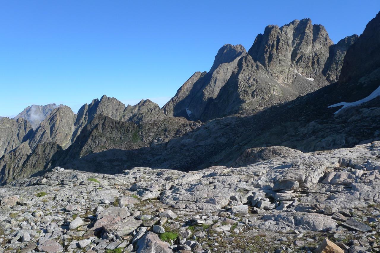 Alpine Route zum Refuge du Cougourde