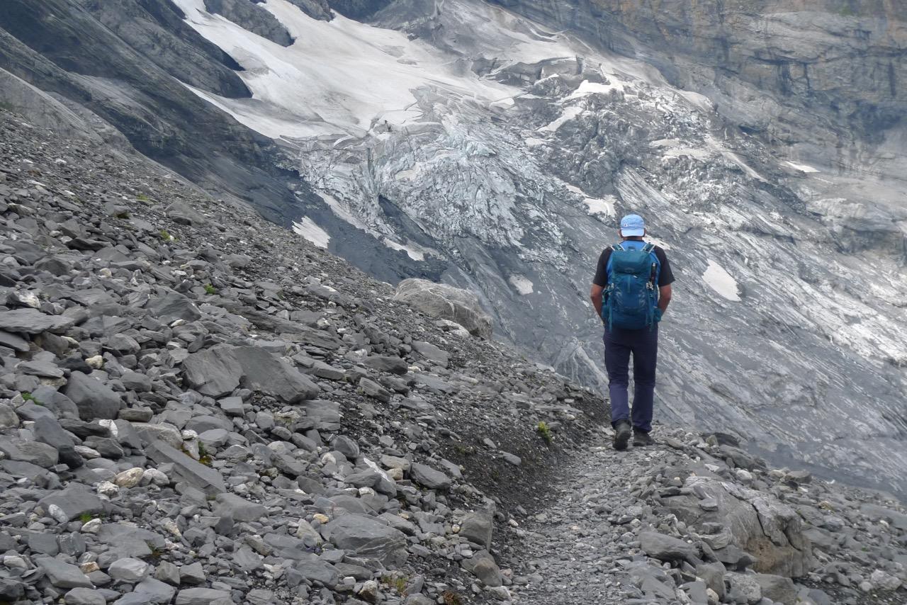 Gletscherroute von der Gspaltenhornhütte zur Bundalp