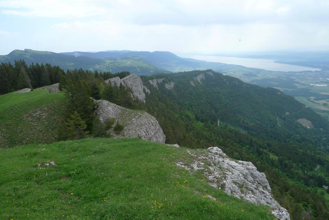 Aussichtsreiche Wanderung auf den Aiguilles de Baulmes