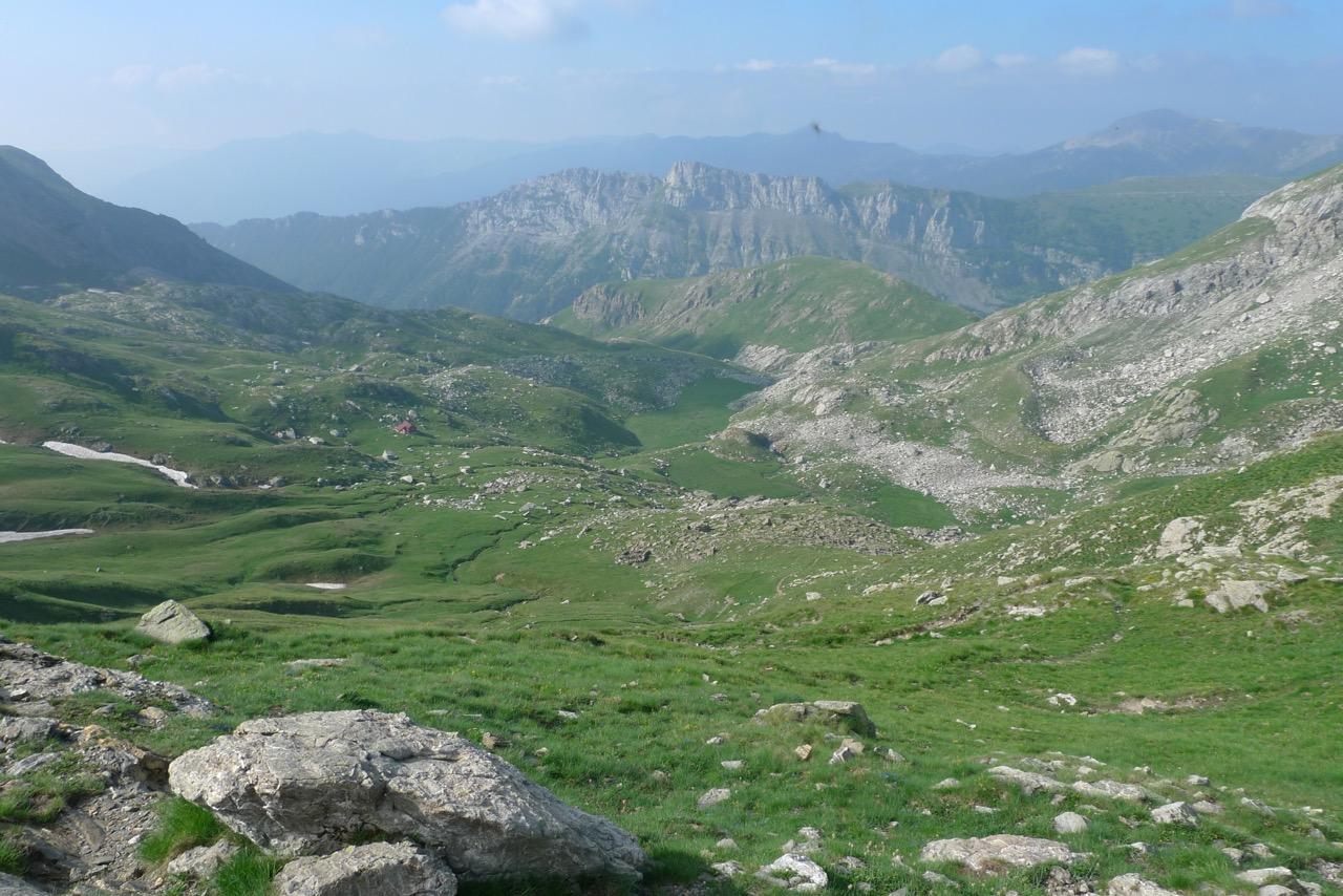 Aufstieg zur Cima Pian Ballaur