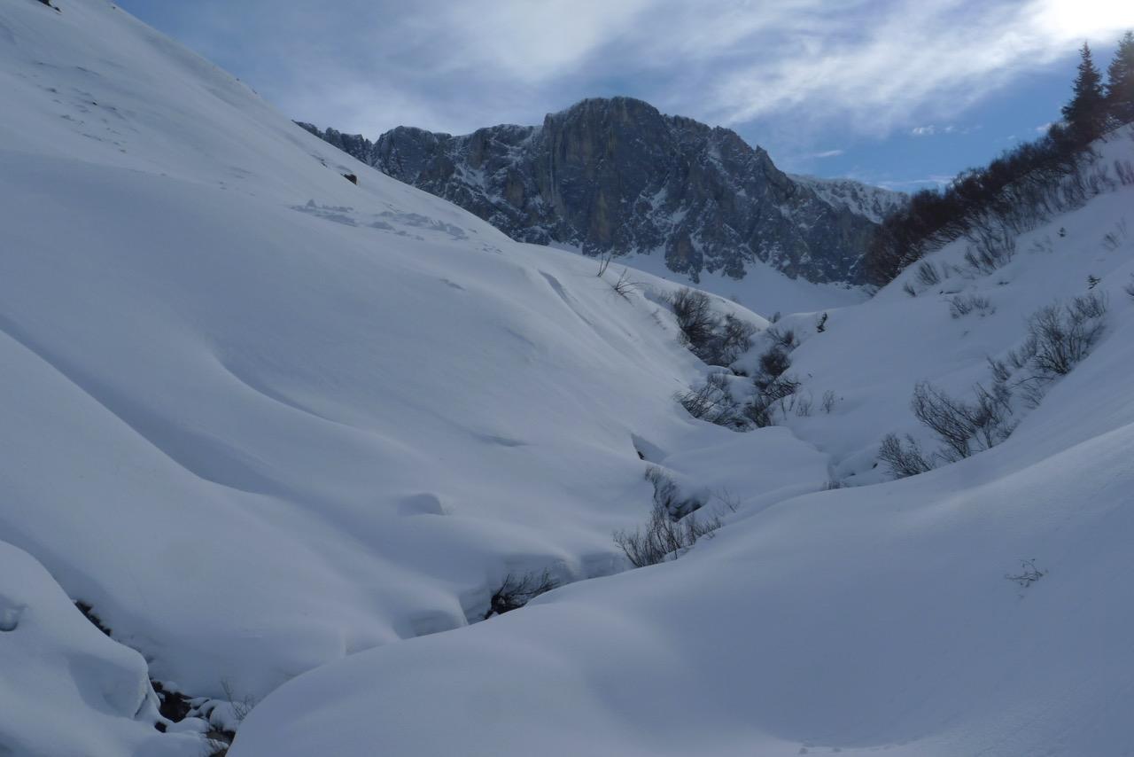 Aufstieg zur Aschariner Alp