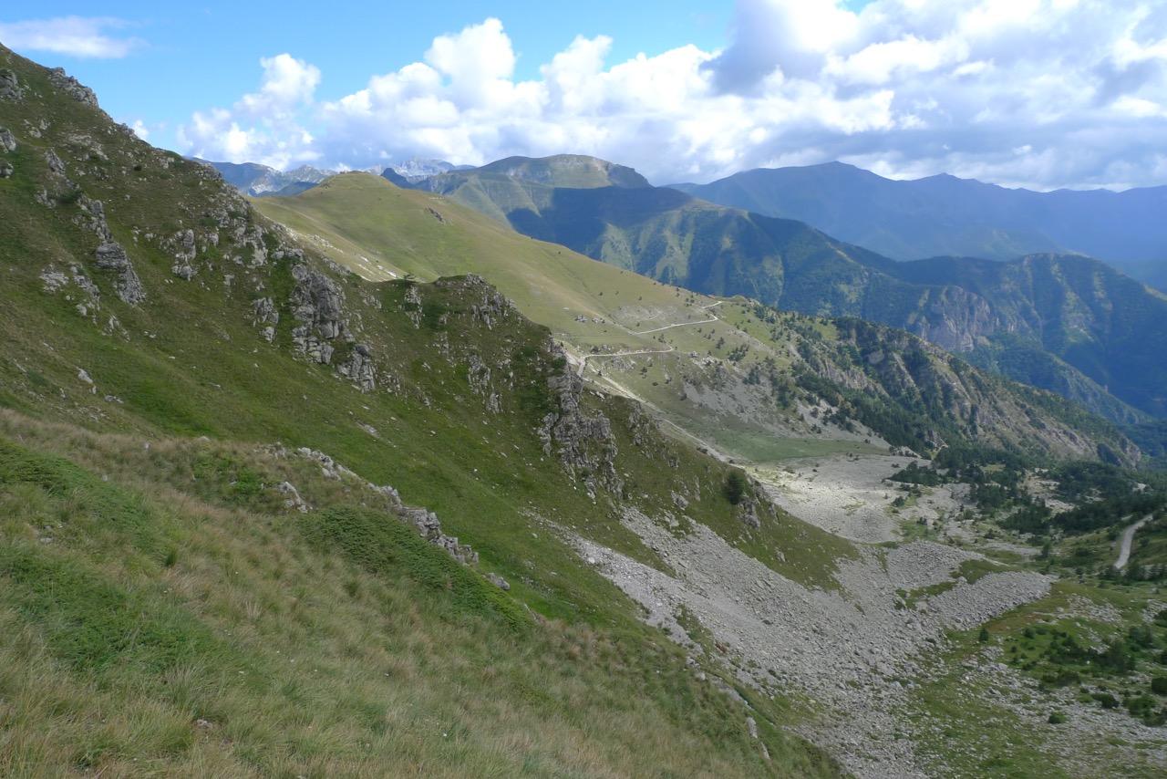 Abstieg nach Limonetto
