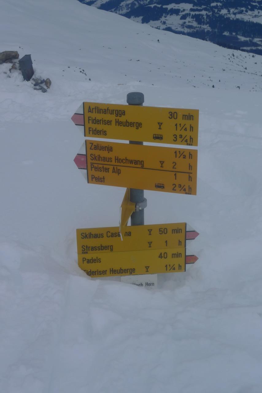 Viel Schnee, aber alles Bruchharsch!