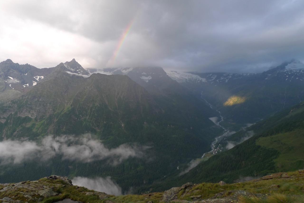Gewitterstimmung über dem Val Malenco