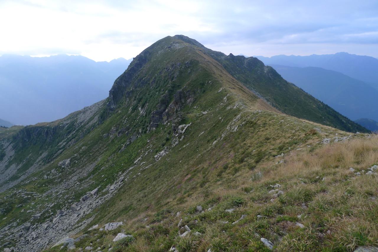 Pizzo Molinera oberhalb der Capanna Brogoldone