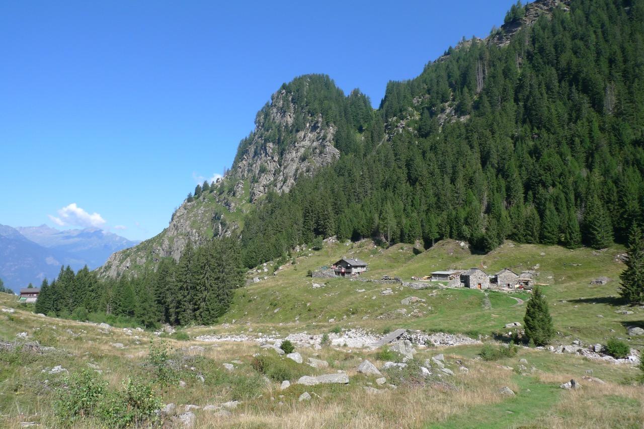 Im langen Abstieg nach Biasca